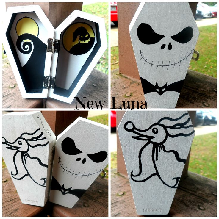 Halloween Coffins Decorations Decor
