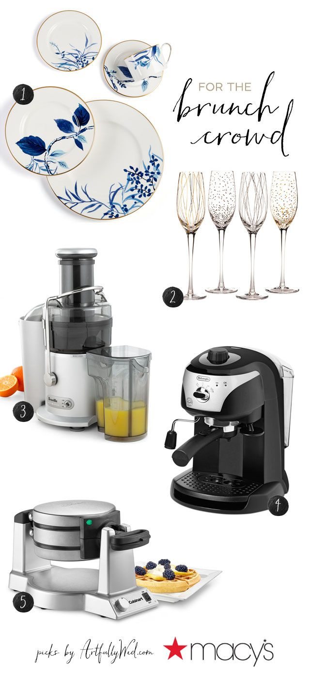 #Sponsored: Register for these 10 essential entertaining gifts at @macys wedding registry, and you'll be ready to throw the best cocktail parties and host the sweetest brunches!