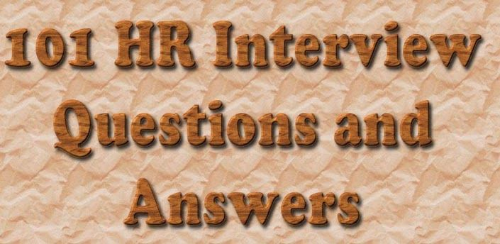 HR Interview Questions - HR interview questions with answers that might be asked during an interview.