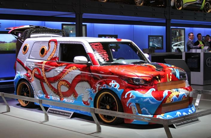 The Squid The Salty Dogs This Wild Paint Job Was The