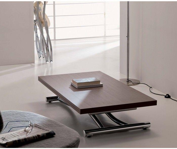 Höhenverstellbarer Designer Couchtisch Ozzio Mondial/ Adjustable Table # Couchtisch #Tisch #Wohnzimmer #livingroom
