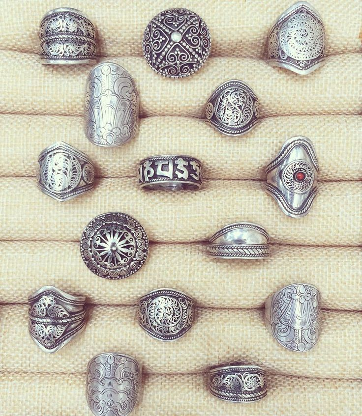 Sterling silver rings from $22.95 USD Gorgeous bohemian, hippie, gypsy jewelery