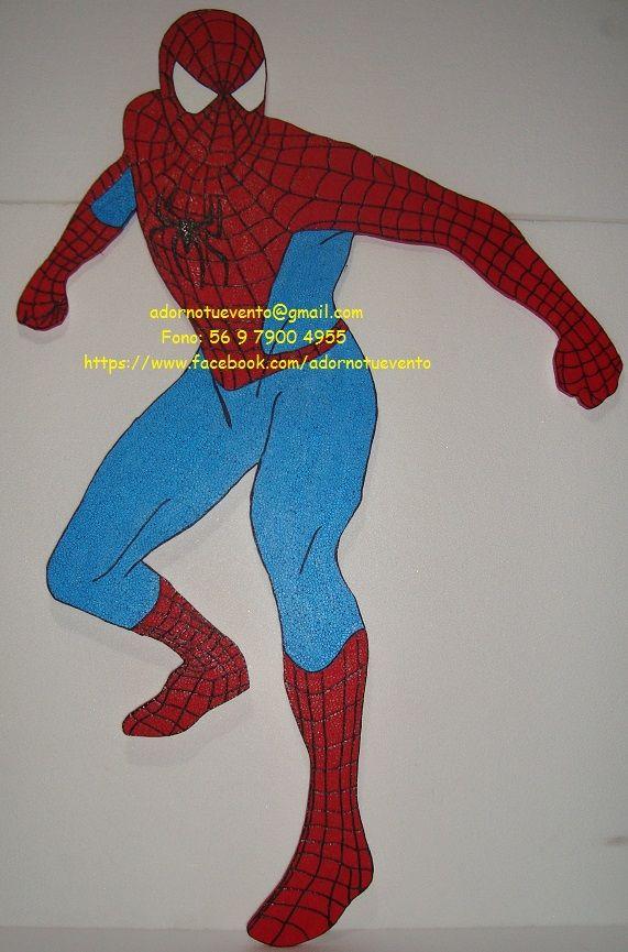 Hombre araña de un metro.