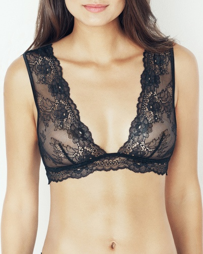 Would look great w spaghetti straps (no ugly bra straps!)The Besame Bralette by IntiMint.com, $39.98