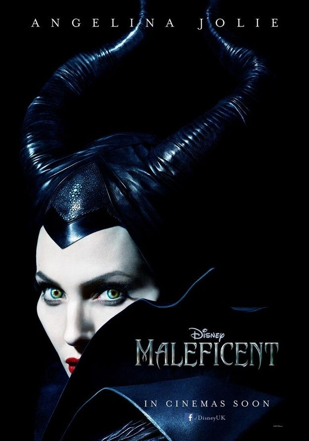 Disney Shows Off The First Poster Of Angelina Jolie As Maleficent