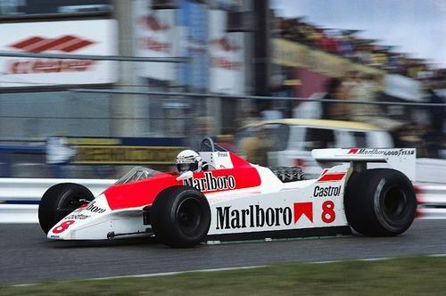 1980 McLaren M30 - Ford (Alain Prost)