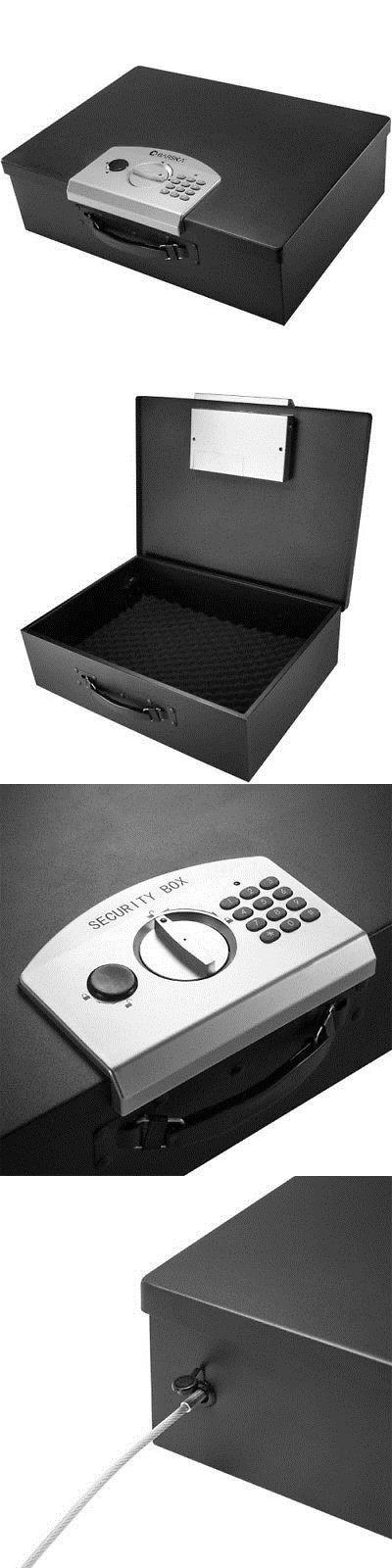 Cabinets and Safes 177877: Barska Digital Portable Keypad Lock Box Ax11910 -> BUY IT NOW ONLY: $61.95 on eBay!