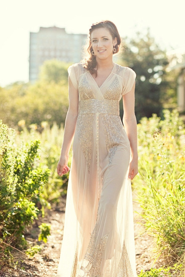 New BHLDN vintage styled gown Photography by ashleybiess