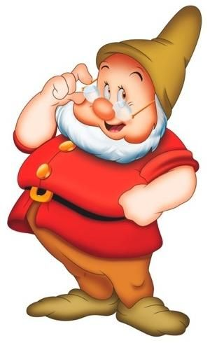 Doc Personality Kind-hearted, somewhat pompous, flustered, responsible, tongue-tied at times Appearance Short, slightly obese, half bald, both white hair and short beard, belly fat, red tunic, brown cap, spectacles Occupation Miner, Leader of the Seven Dwarfs Affiliations Good Goal To protect Snow White