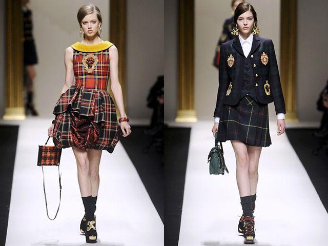In diretta dalle Highland scozzesi, il tessuto che serviva per costruire i kilt si sposta ovunque: sulle giacche, sui pantaloni, sulle gonne, sui cappelli, sugli abiti... E si declina in tutti i colori possibili, quelli classici del rosso, verde, blu dei clan di origine e quelli interpretati da tutti gli stilisti del mondo