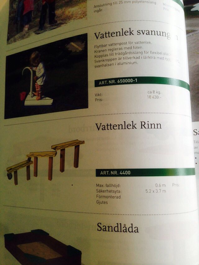 Vattenlek Rinn s 68 Slottsbro