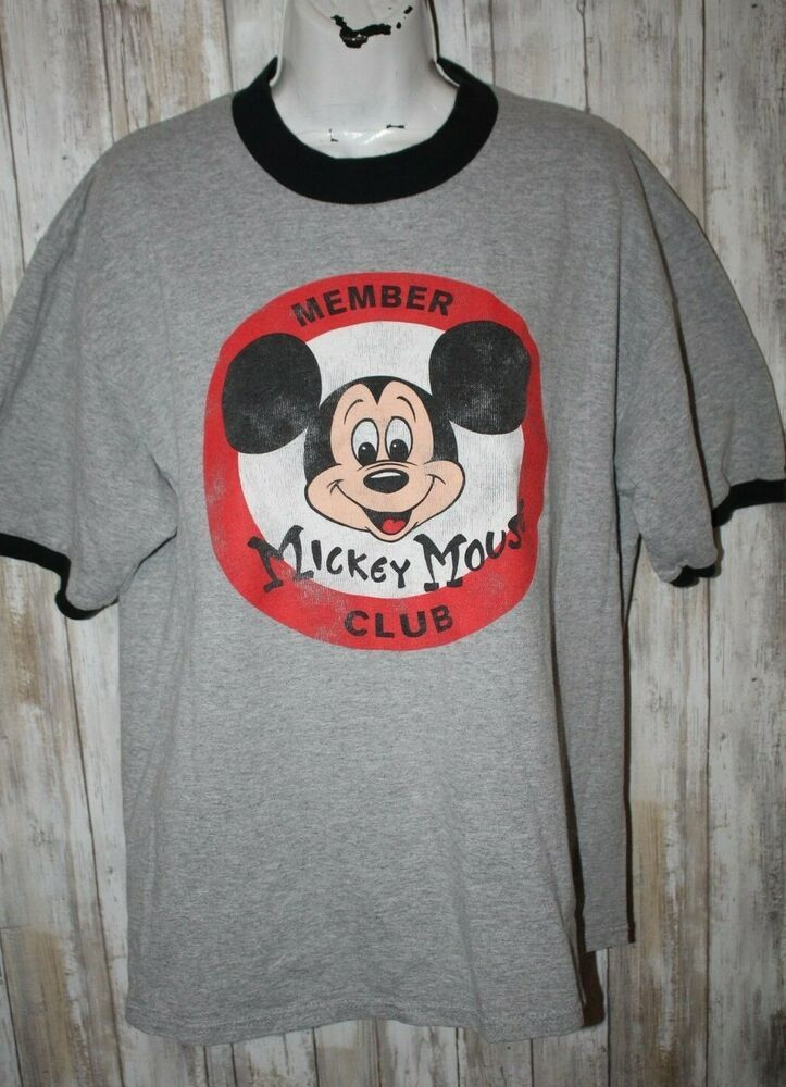 d4515ff0 Details about Disney Store Adult XXL Tee Shirt Souvenir Mickey Mouse ...