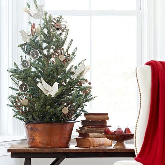 Tabletop Christmas Tree Prelit