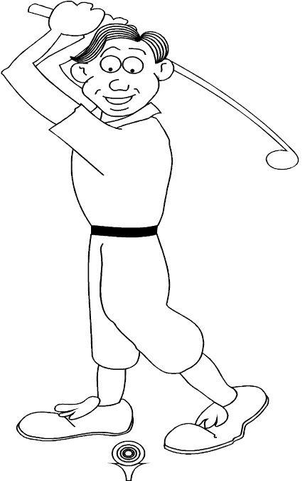 Dibujos para Colorear Deportes 1