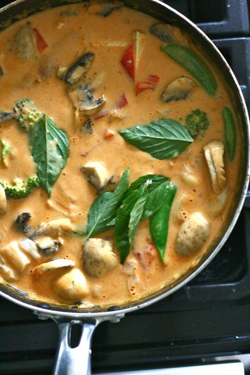 Vegetarisk paneng curry