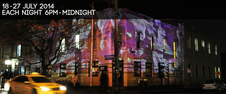Gertrude Street Projection Festival 18-27 July 2014