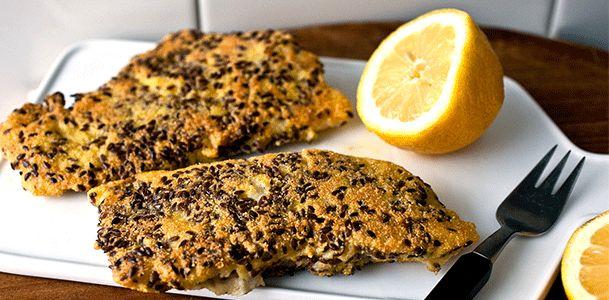 Zdrowa wersja obiadu na dziś – dorsz w siemieniu lnianym! - Zdrowy tryb życia, jem zdrowo, ciekawostki dietetyczne