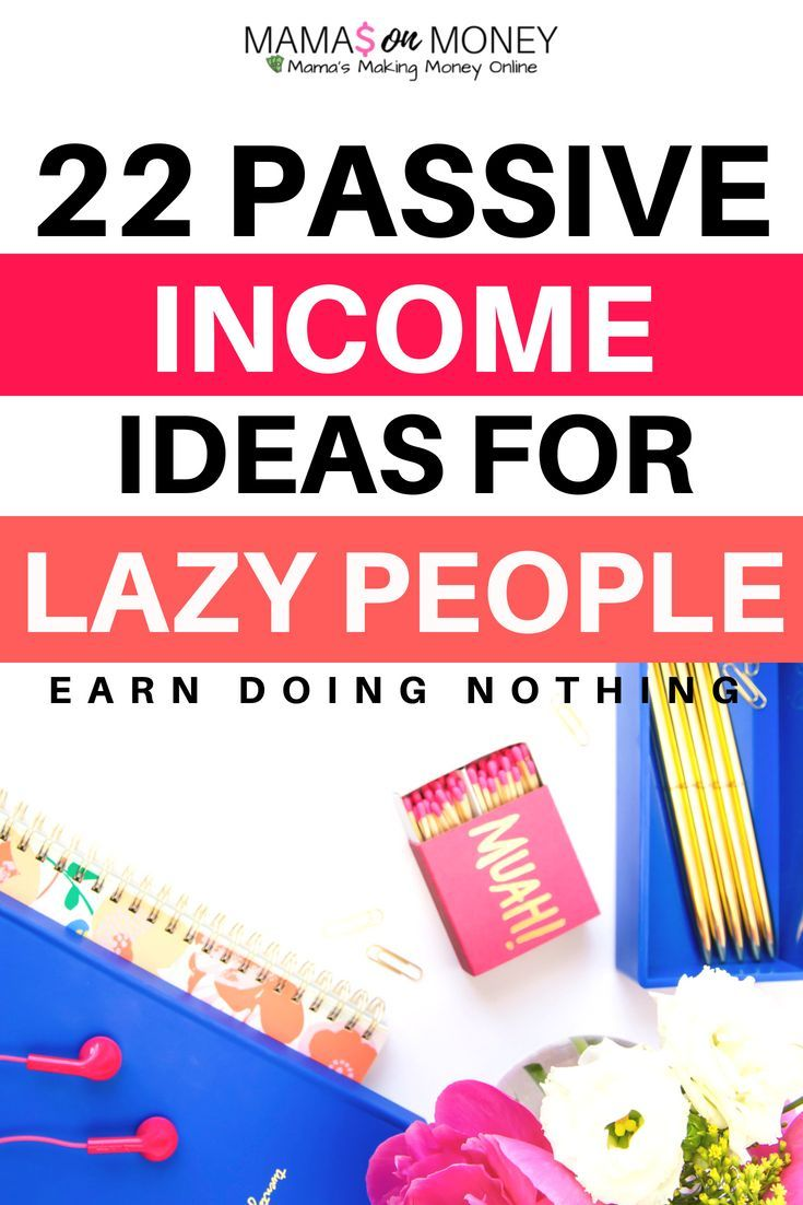 Looking to make money passively? Check out these 22 Passive Income Ideas For Laz… – Okay Now Breathe | Mental Health, Personal Growth, Spirituality