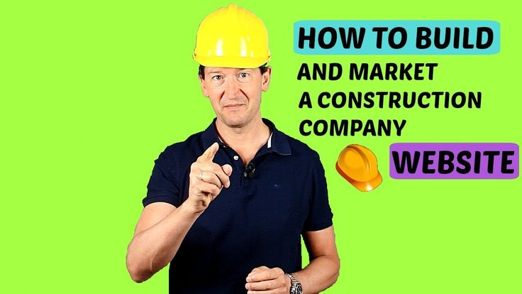 How To Build And Promote A Construction Company Website #construction #website #builder https://www.youtube.com/watch?v=DwgrSyUOH_o