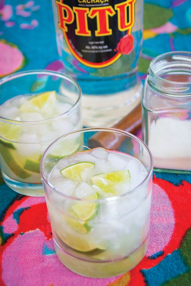 Learn to mix the caipirinha, which is the national Brazilian cocktail.