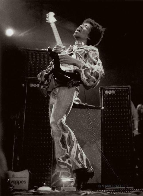 Jimi Hendrix Isle Of Wight Festival, England 1970-08-30