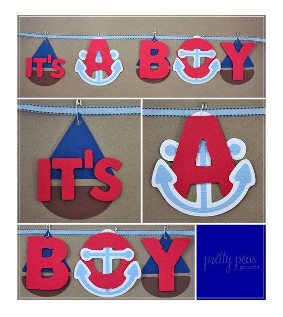 Ahoy It's A Boy Baby Shower