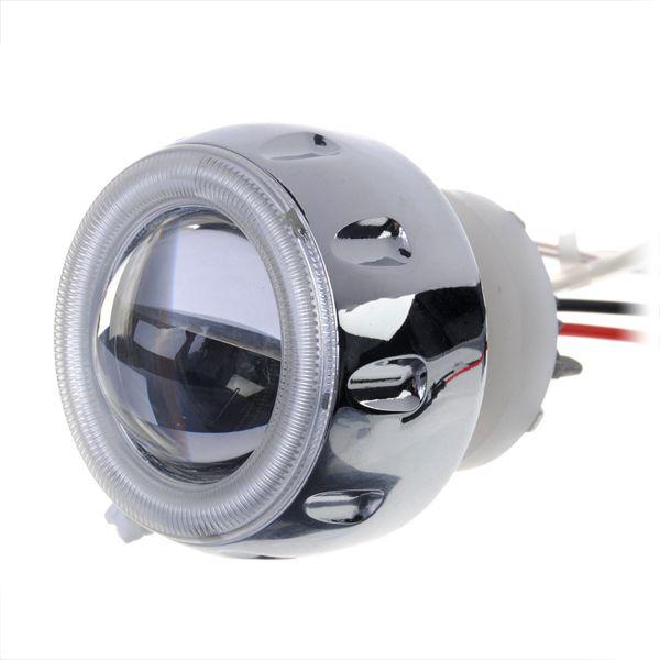 Motocicleta de la lente del ojo del ángel 3000lm escondió kit de faros de xenón