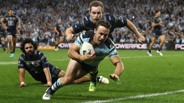 Cronulla Sharks knock out North Queensland Cowboys to reach grand final - Stuff.co.nz
