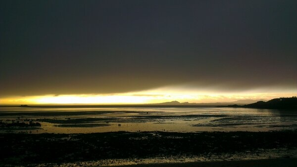Bleak over Edinburgh in the morning by @Craig Fish - Using his #HTC OneX, no effects #HTCreativity #Beach #Dawn