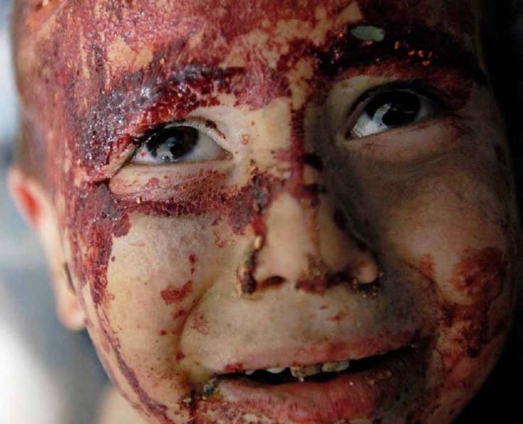 """Syria : """"Tout cela se passe en Syrie et se passe de commentaires"""" Paris Match, Photo, Robert King"""