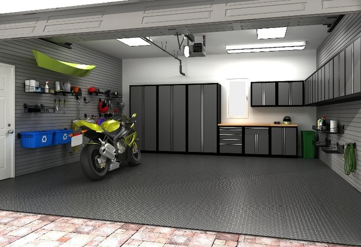 2 car garage layout ideas car garage ideas garage for Cool car garage ideas