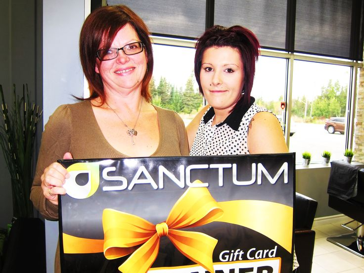 Congratulations to Catherine Jones Milne - the winner of StyleON contest. Thank you for having a complementary Wash & Style with Chantel yesterday and booking your next appointment with our team at Sanctum Salon & Spa!