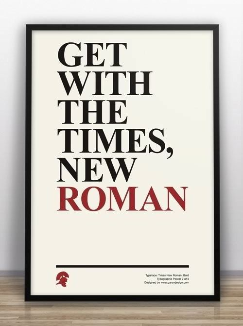 Get With The Times New Roman 99 Jokes Only Web Designers