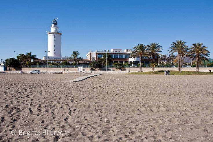 #Málaga #beach #LaMalagueta / All places of interest you'll find here: http://www.amazon.co.uk/M%C3%A1laga-Capital-Coast-Brigitte-Hilbrecht/dp/1517300533/ref=sr_1_1?s=books&ie=UTF8&qid=1456574193&sr=1-1&keywords=malaga