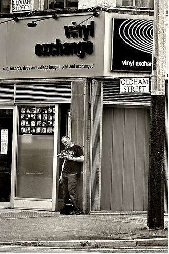 *Vinyl Exchange, Oldham Street - Manchester...*