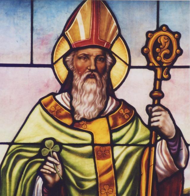Saint Patrick, The Shamrock, and The Trinity