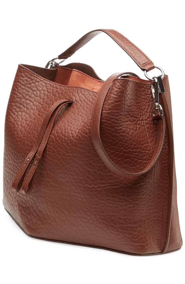 MAISON MARGIELA Medium Leather Bucket-Bag.