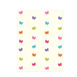 Little dancing butterflies on your curtains will make you want to dance in joy once placed in your room.They just add right amount of  color to spruce up any room.