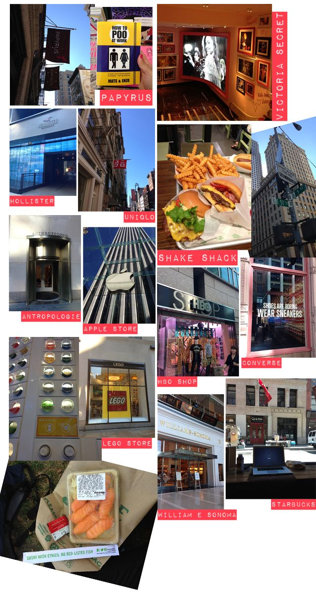 Shopping a New York in due giorni #NY #shopping #fashion
