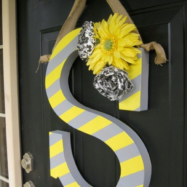 156 Best Letters Images On Pinterest Letters Decorated Letters