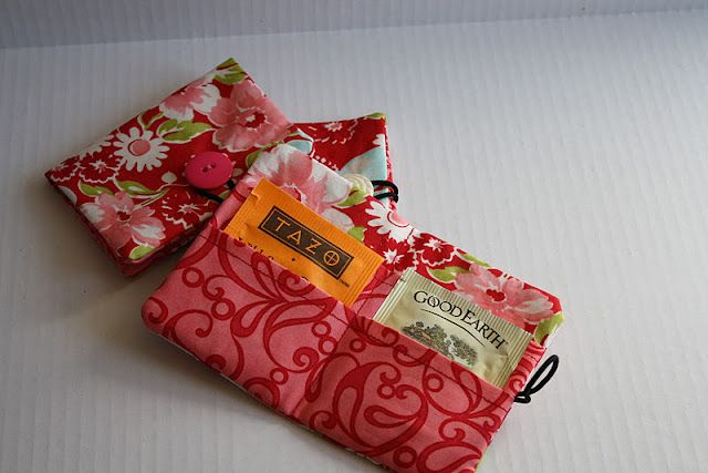 The tea wallet.  Tutorial can be found here  http://handmadetherapy.blogspot.com.au/2011/02/tea-wallet-tutorial.html