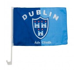 Dublin Flag for Car Window