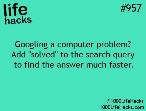 Very helpful search hack