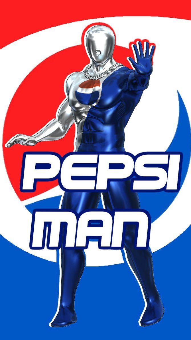 Character Idea 9 Pepsi Man Black Panther Art Pepsi