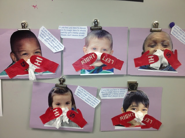 keep the germs to yourself PreK Activity