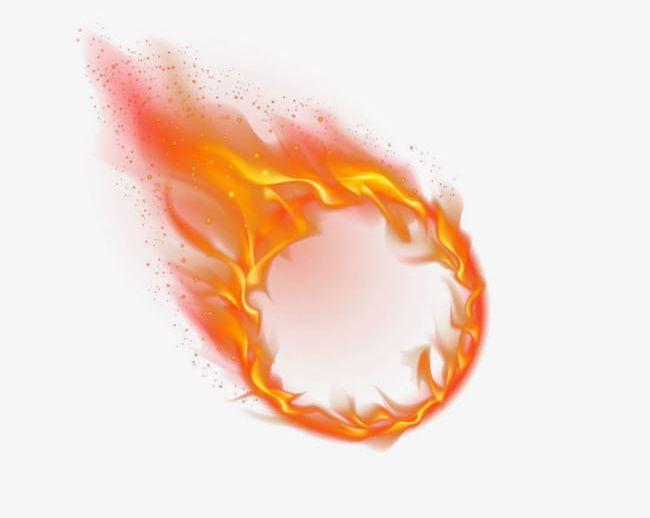 Burning Fire Circle Png Circle Drawing Fire Drawing Circle Clipart