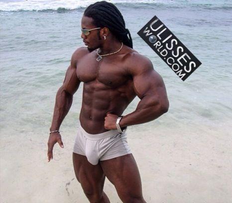 Naked black men big dick