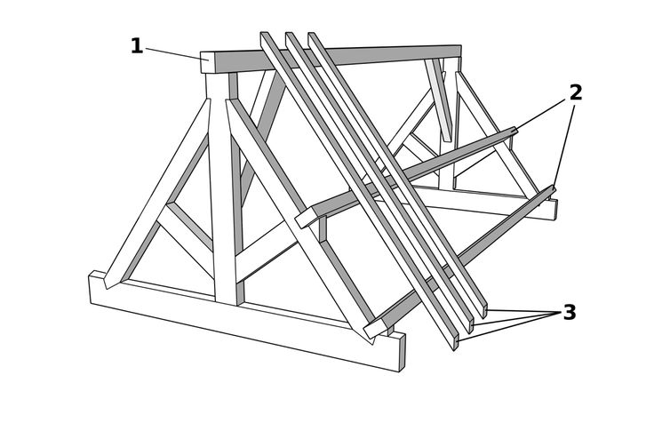 King Post Truss Roof
