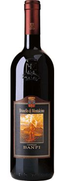 Castello Banfi Brunello di Montalcino.  This wine is particularly suited to accompany red meat, game and aged cheeses. Long aging potential.