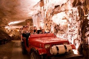 Missouri's Show Caves in Missouri | VisitMO.com - This one pictured is Fantastic Caverns in Springfield MO